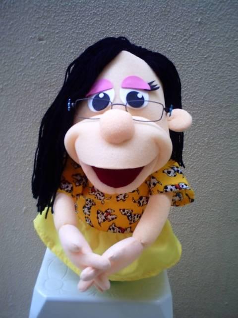 boneca de espuma