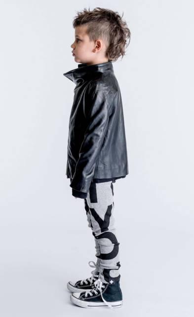 Ideia de look estiloso com jaqueta de couro