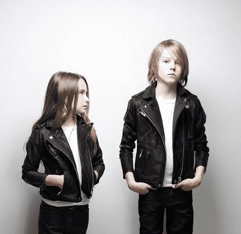 modelos de jaquetas de couro infantil