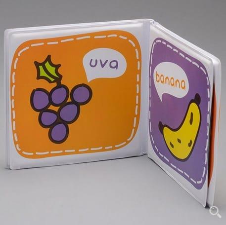 livro cores e frutas