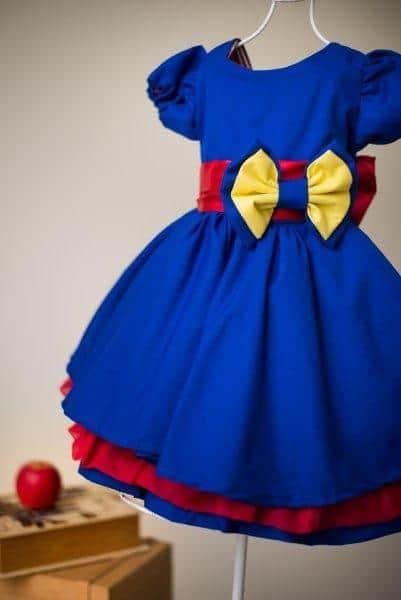 vestido da luna luxo