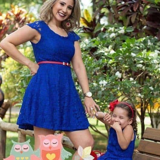 vestido da Luna tal mãe tal filha