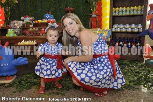 vestido mãe e filha aniversário 1 ano