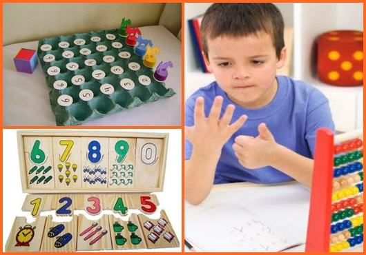 Matemática para crianças: jogos