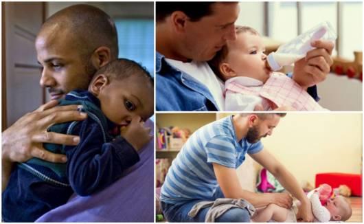 Imagens com pais e seus filhos
