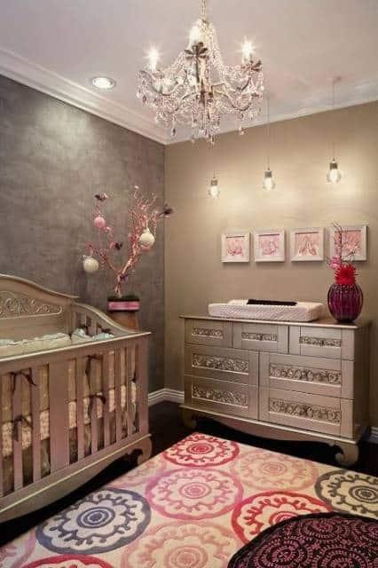 Quadros de MDF para quarto de bebê feminino