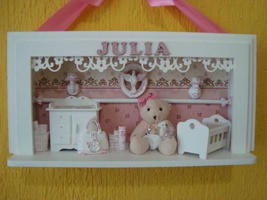 quadros para quarto de bebê feminino com nome