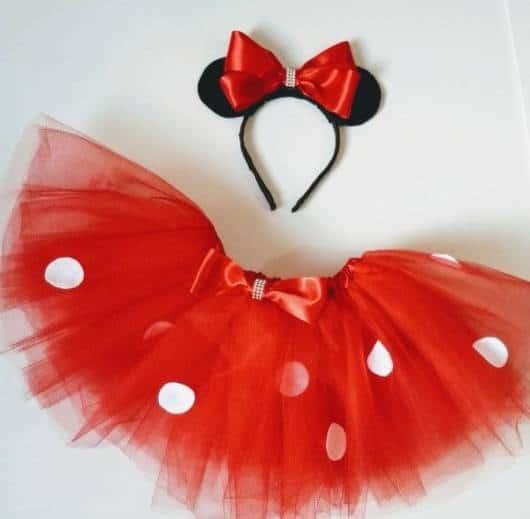 fantasia simples e barata da Minnie