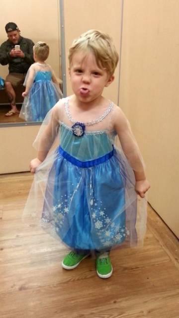 Vestido da frozen: baby com capa