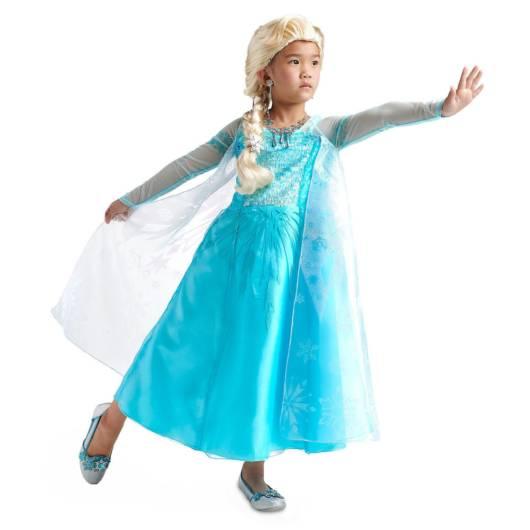 Vestido da frozen: vestido da Elsa