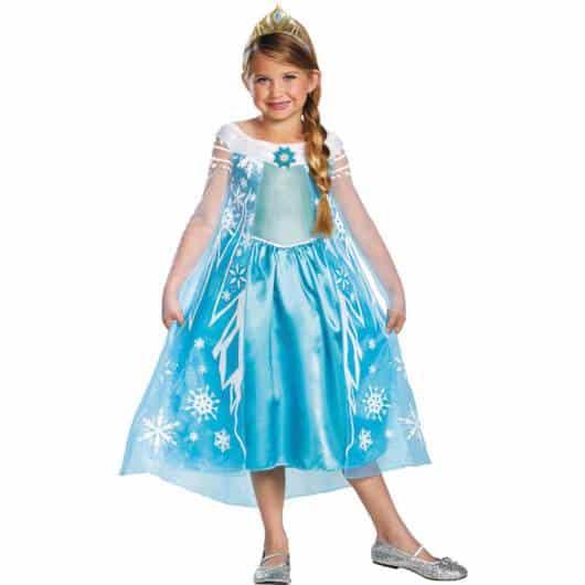Vestido da frozen: vestido da Elsa curto