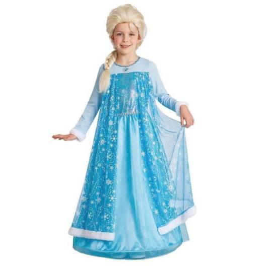 Vestido da frozen: vestido da Elsa com capa