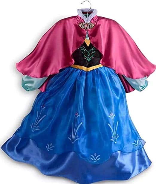 Vestido da frozen: vestido da Ana