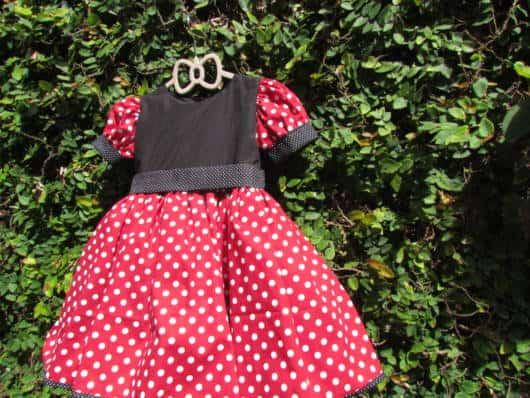 Vestido tradicional da Minnie