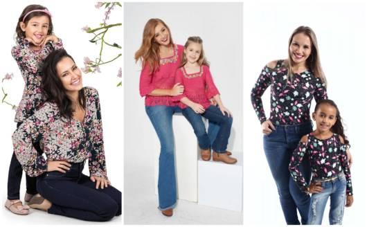 Modelos de blusas estilo tal mãe tal filha