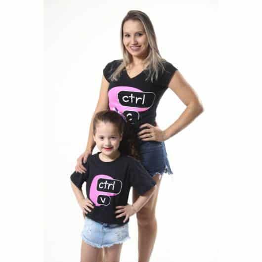 blusa mãe e filha