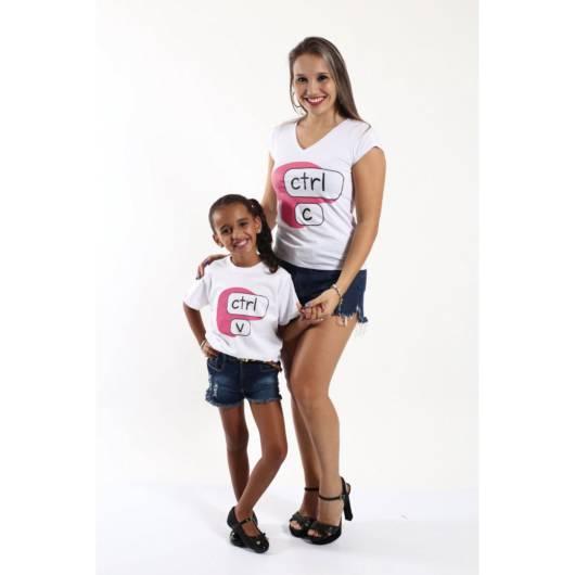 blusa para mães e filhas
