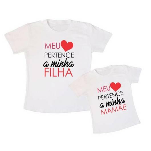 blusa mãe e filha personalizada