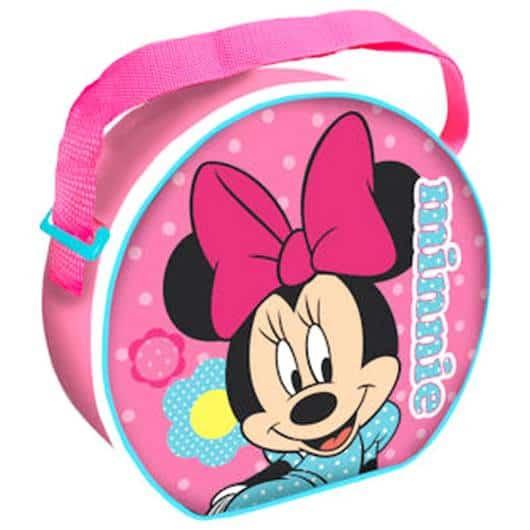 Lancheira infantil feminina: Minnie redonda
