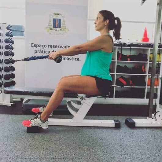 Ivete Sangalo recorreu ao pilates em sua gravidez