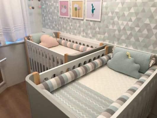 quarto para casal de gêmeos