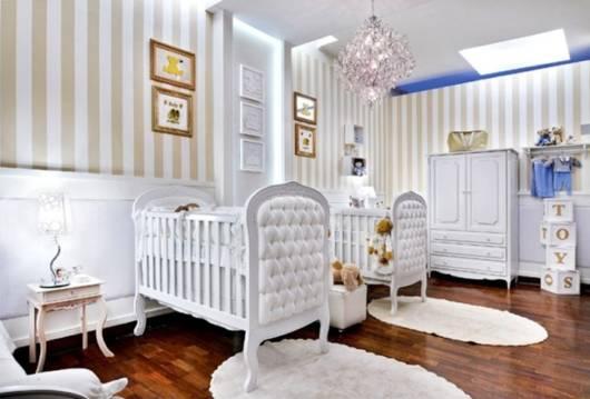quarto decorado para meninos gêmeos