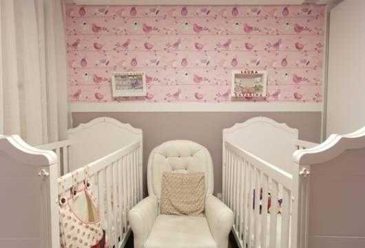 quarto decorado para meninas gêmeas