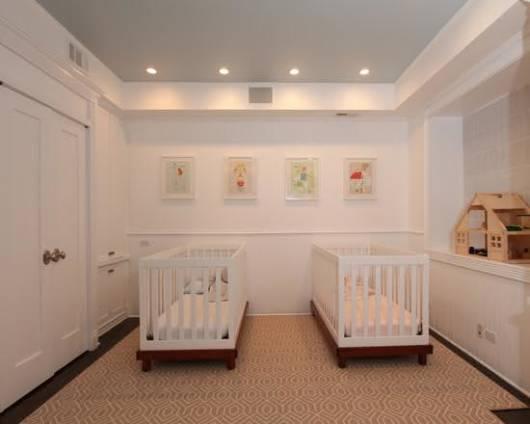 quarto planejado para gêmeos