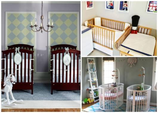 Está esperando gêmeos? Então veja com a gente muitas dicas de quartos!
