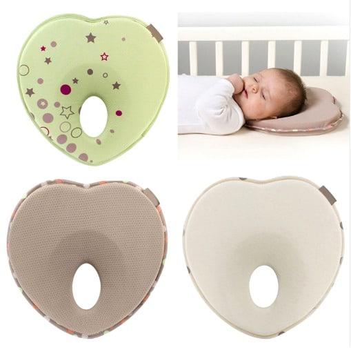 Travesseiro para bebê com furo no meio