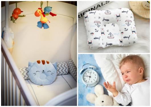 5 modelos de travesseiros para bebês