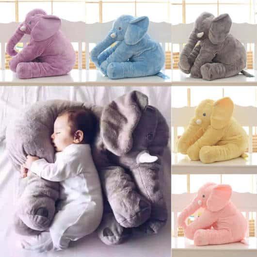 travesseiro elefante para bebês