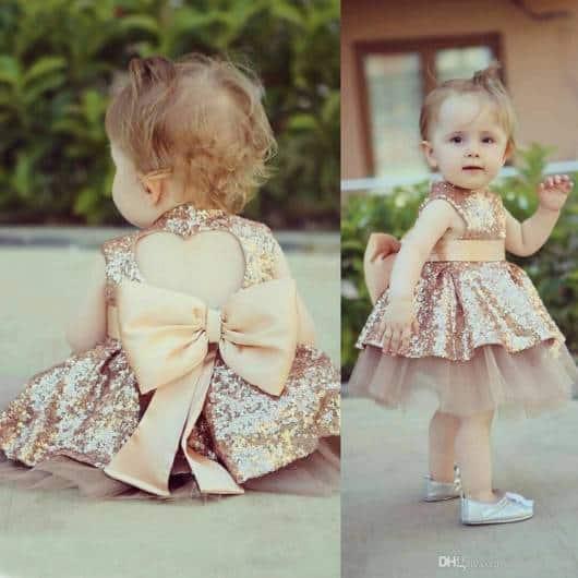 vestido com brilho