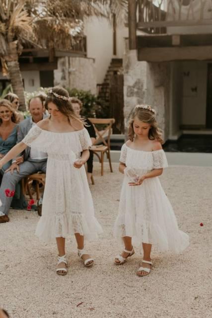 vestido para casamento na praia