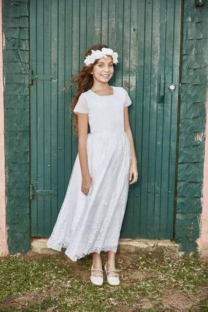 vestido branco simples e barato