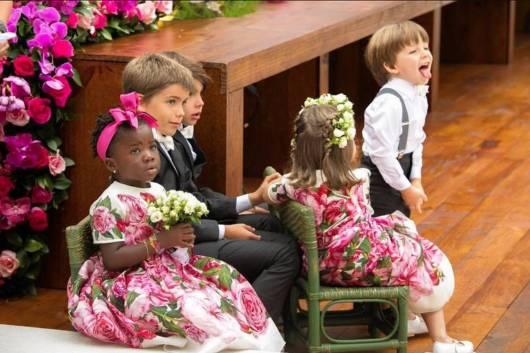 vestido estampa florida