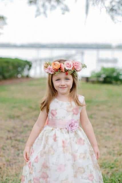 vestido delicado casamento de dia
