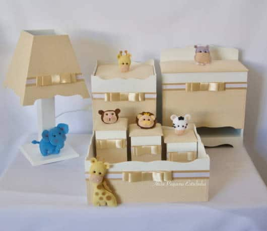 kit higiene safari mdf