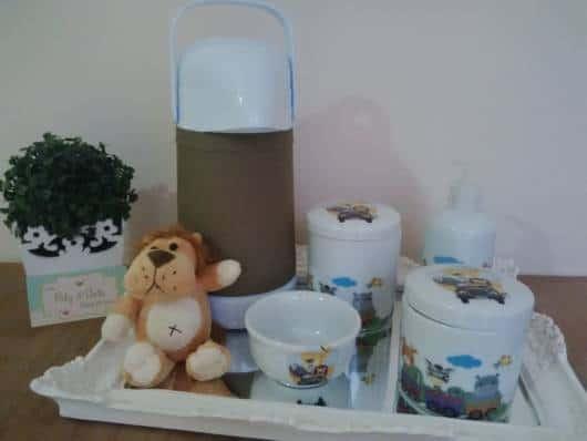 kit higiene safari pequeno simples
