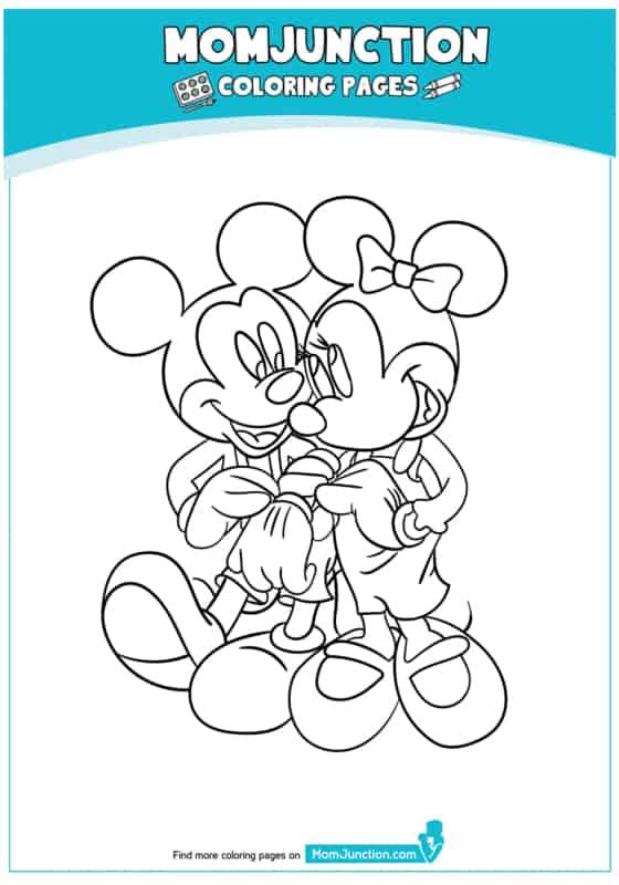 desenho do mickey e minnie juntos