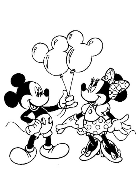 25 Desenhos Do Mickey Para Colorir Os Mais Legais Da Internet