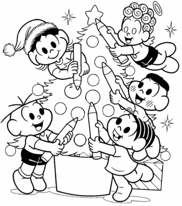 atividade de natal para fazer com as crianças