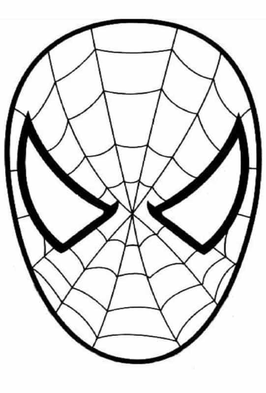Homem Aranha máscara