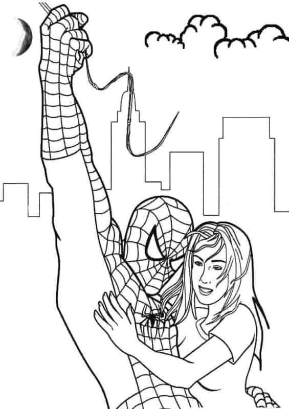 Homem Aranha salvador
