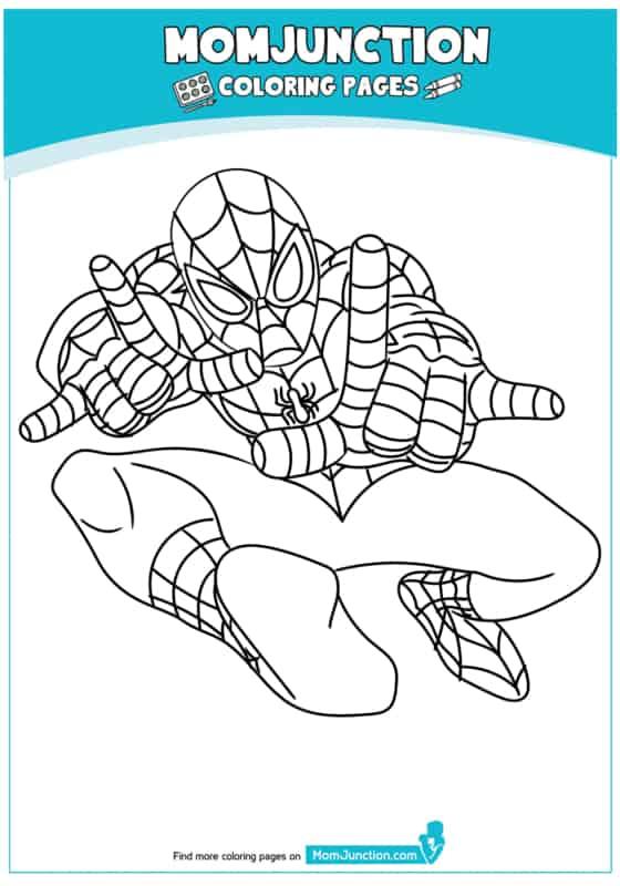 desenho bonito do Homem Aranha