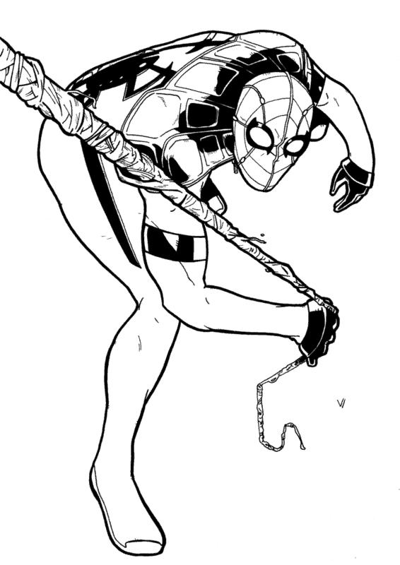 ideia de figura Homem Aranha