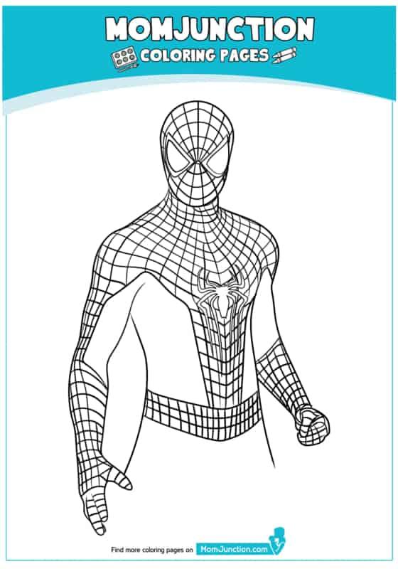 retrato do Homem Aranha