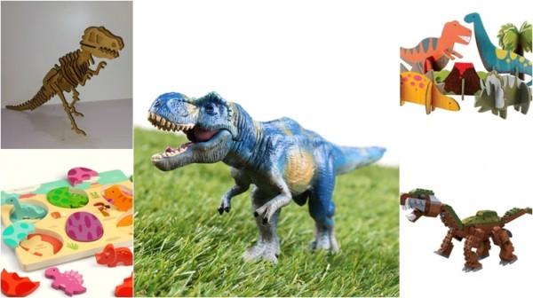 brinquedos de dinossauro