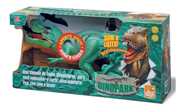 dinossauro com som e luzes