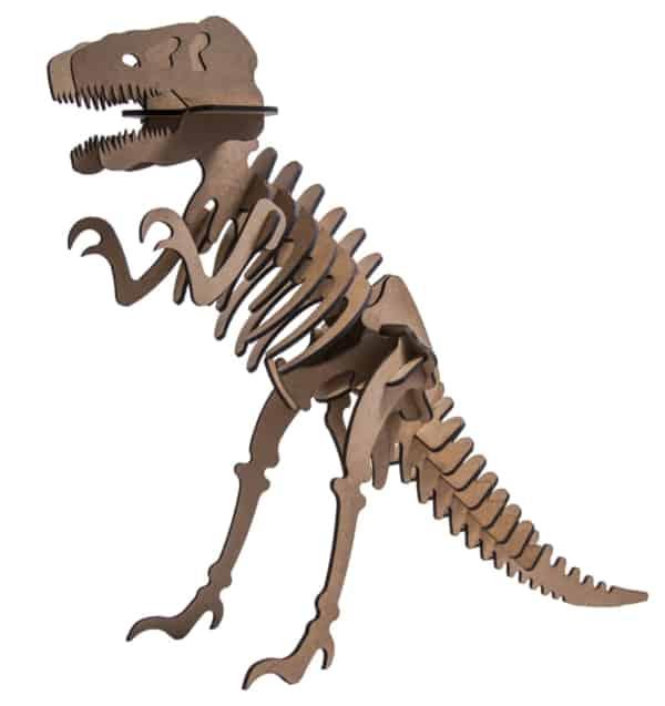quebra cabeça 3D de tiranossauro rex